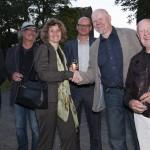 Handschlag mit der Schirmherrin: Edgar Neustein, Herbert Höcky, Eveline Lemke, Dr. Oliver Kornhoff, Helmut Reinelt, Hans Peter Kürten