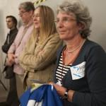 Karin Keelan vom Bündnis Remagen für Frieden und Demokratie
